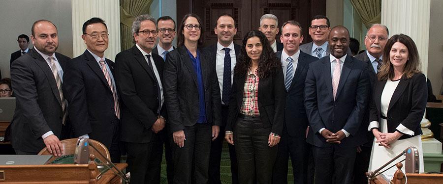 Israeli Consul General with Members